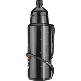 Elite Crono TT juomasysteemi Hiilikuitutelineellä 400ml, black